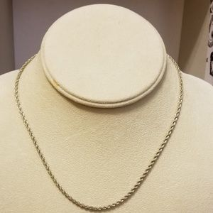 """Jewelry - Sterling silver 16"""" necklace"""